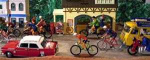 Janol Apin la course des p'tits vélos